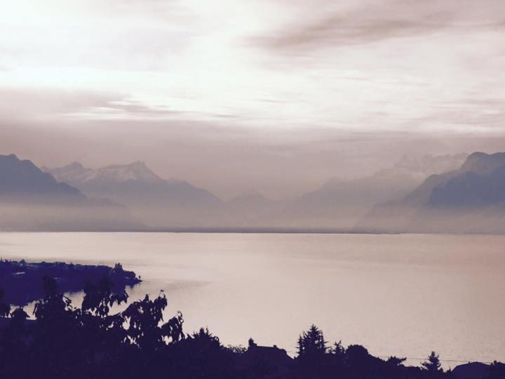 alps beautiful view