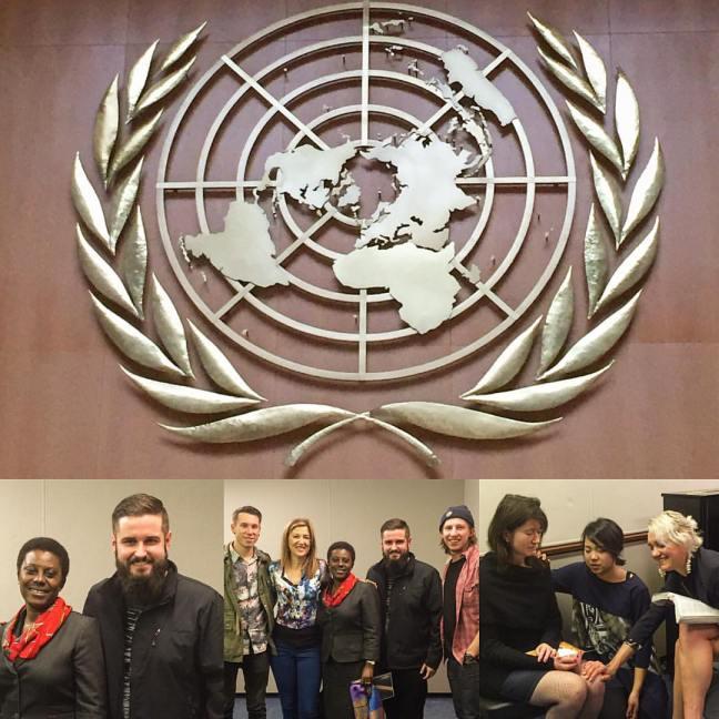praying at UN