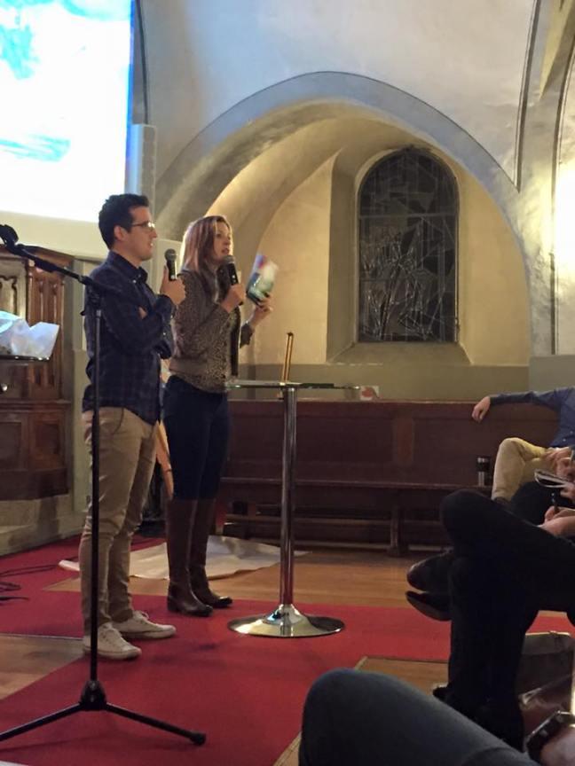 theresa preaching @ corsier